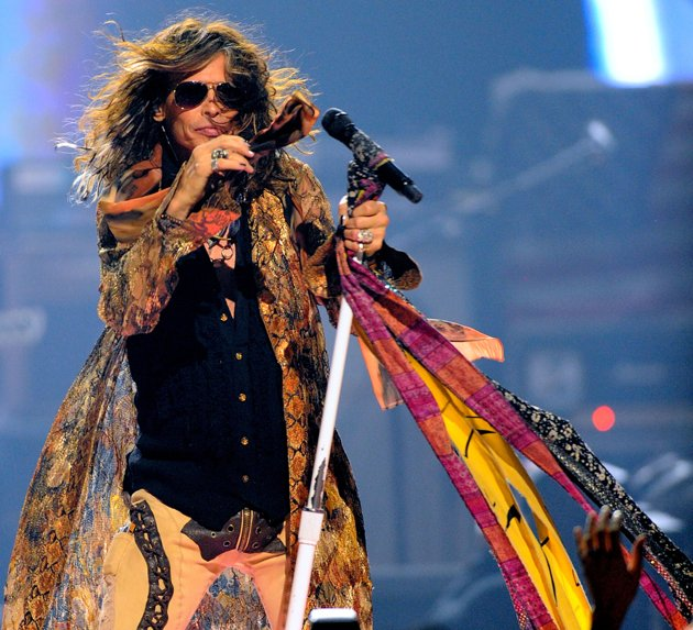 Steven Tyler (Photo by Isaac Brekken:Getty Images for Clear Channel)