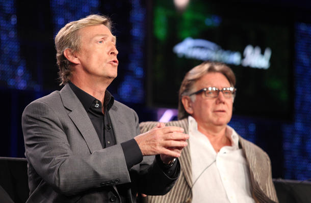 Nigel Lythgoe and Ken Warwick [photo: Frederick M. Brown/Getty Images]