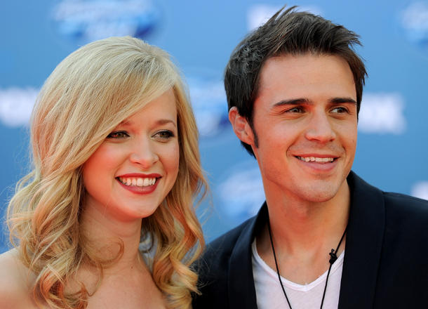 New parents Katy & Kris Allen [photo: Frazer Harrison Collection/Getty Images]