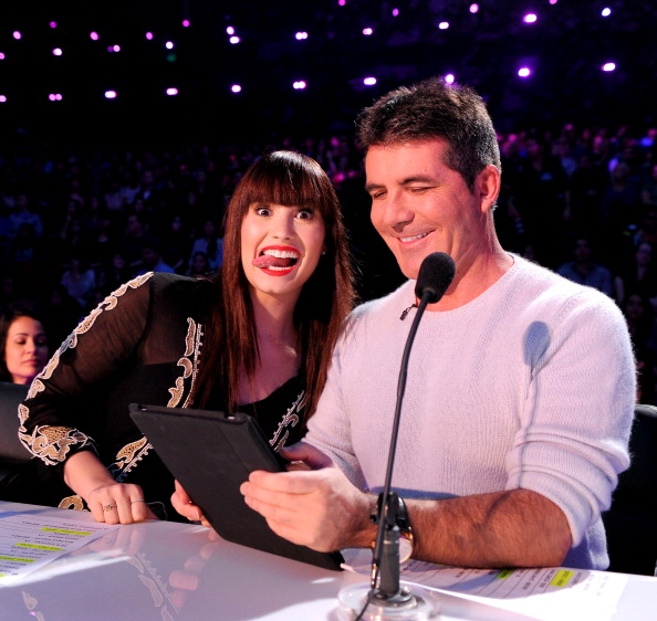 Demi & Simon, together again! [photo: Fox]