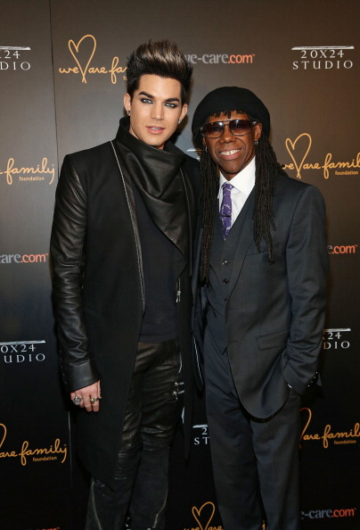 Adam Lambert & Nile Rodgers [photo: Rob Kim/Getty Images]
