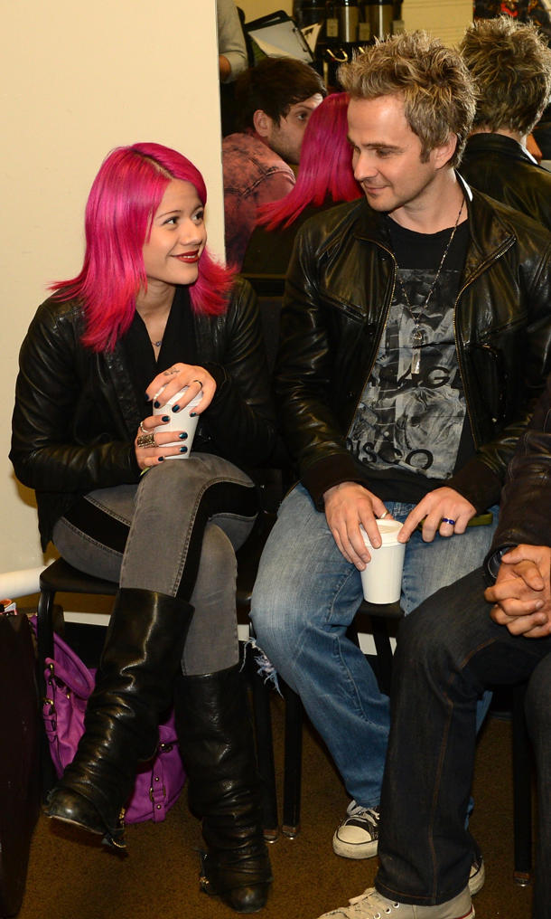 Allison Iraheta & Matthew Hager [photo: Rick Diamond/WireImage]