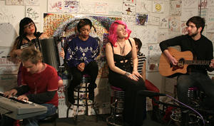 Matthew Hager, Gee Rabe, Tena Jones, Allison Iraheta, Valerie Franco, David Immerman