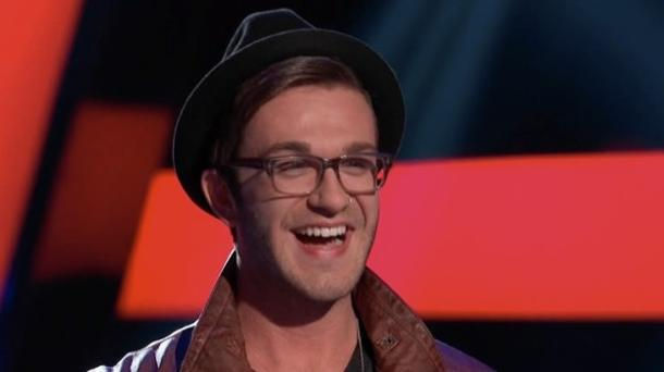 Luke Edgemon stands out during the final Blind Auditions