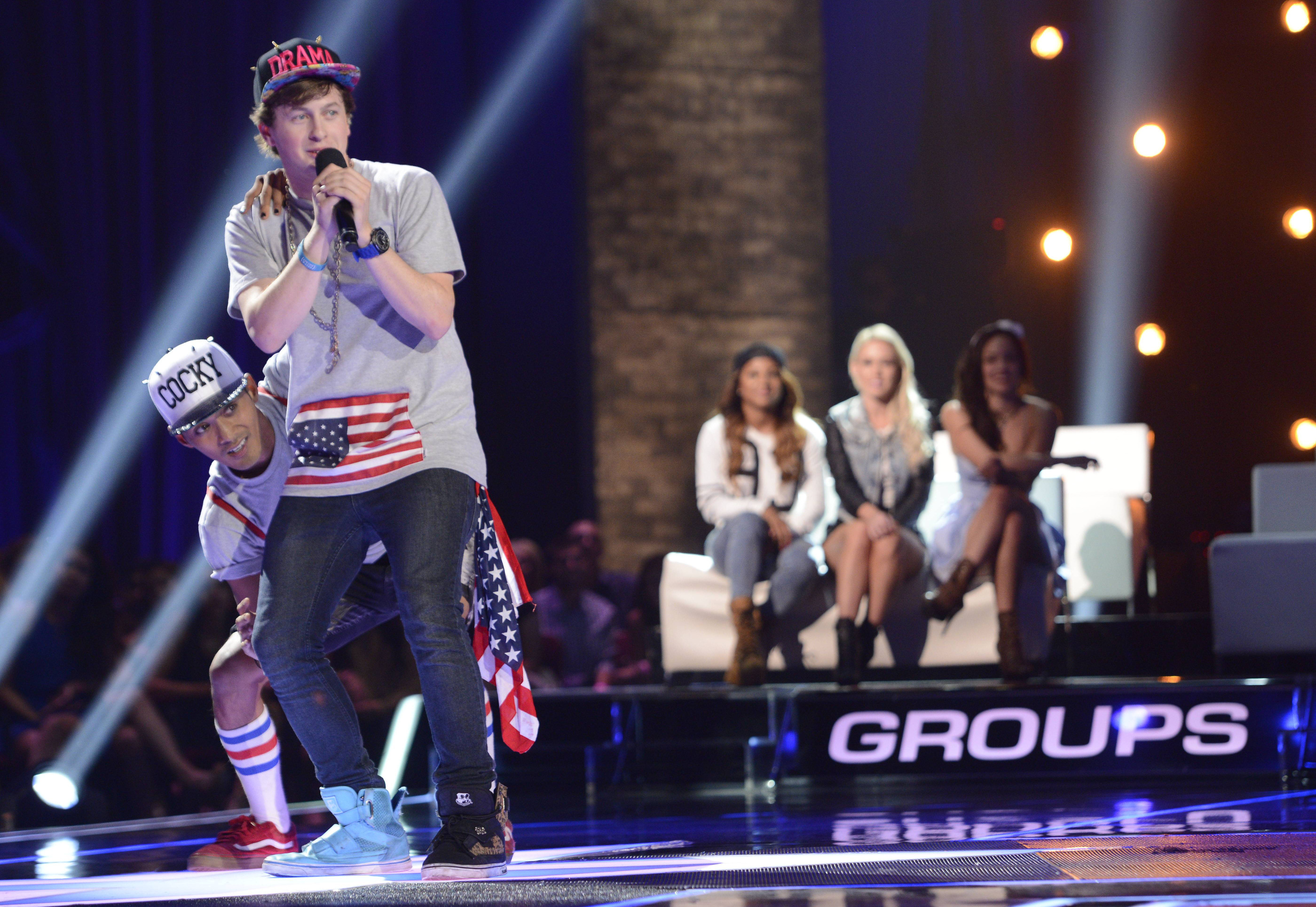 Did Wild Thingz party-rock their way into the top 16? [photo: Fox]