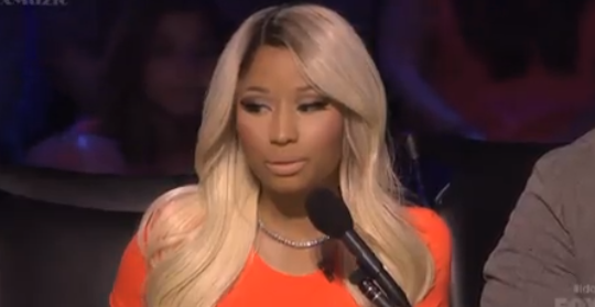 Nicki Minaj is not amused