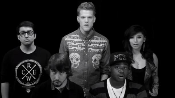 "Pentatonix school YouTube viewers with ""Evolution of Music"" vid"