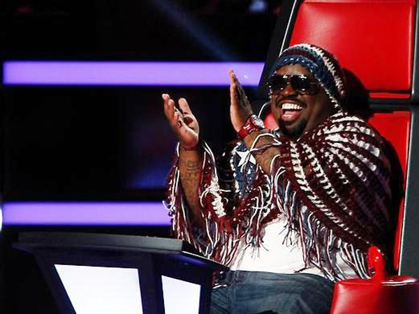 Cee Lo Green's patriotic election week look [photo: Trae Patton/NBC]