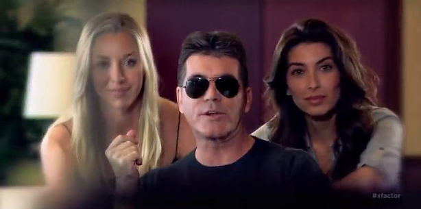 "Yo! Simon Cowell Raps on ""Ask Me to Dance"""