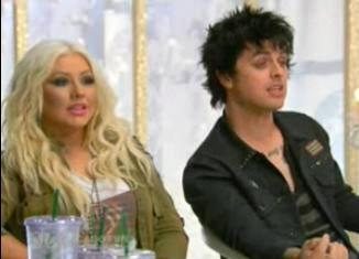Billie Joe mentors Team Xtina