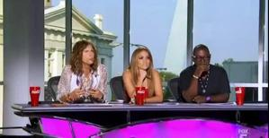 The judges try to keep up their spirits in St. Louis