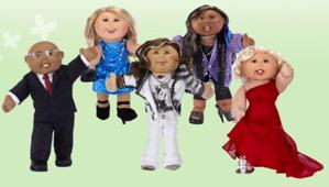 Jakks Pacific's celebrity Cabbage Patch dolls