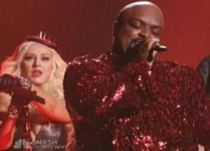 "Xtina & Cee Lo party like it's ""1999"""
