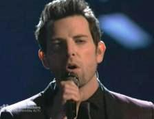 "Chris sings  ""Bridge Over Troubled Water"""