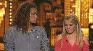 Hollie Cavanagh joins DeAndre in the bottom three