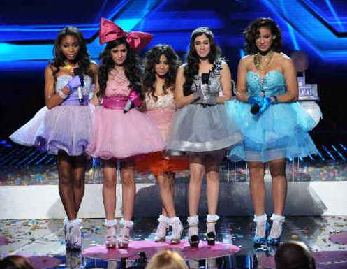 Will Fifth Harmony pull off an upset? [photo: Fox]