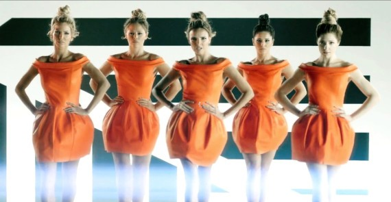 Girls Aloud, featuring Cheryl Cole