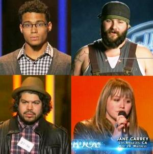 Some memorable contestants go home