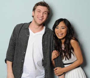 Phillip Phillips & Jessica Sanchez [photo: Fox]
