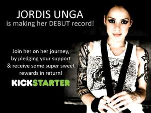 Jordis Unga has raised more than $60,000 on Kickstarter