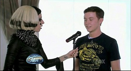 Gaga and Scotty in 2011
