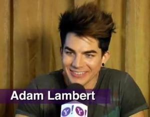 Adam backstage at L.A.'s Staples Center