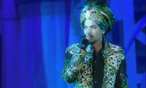 Adam Lambert at the 2013 Life Ball