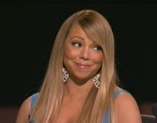 Mariah Carey appears unimpressed