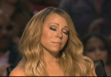 Mariah Carey bids Amber a teary farewell