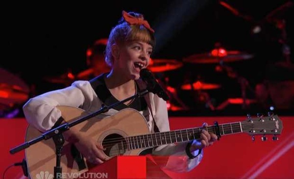 Melanie Martinez wows with her audition