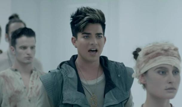 "Adam Lambert Blinds With Science In ""Never Close Our Eyes"" Video"
