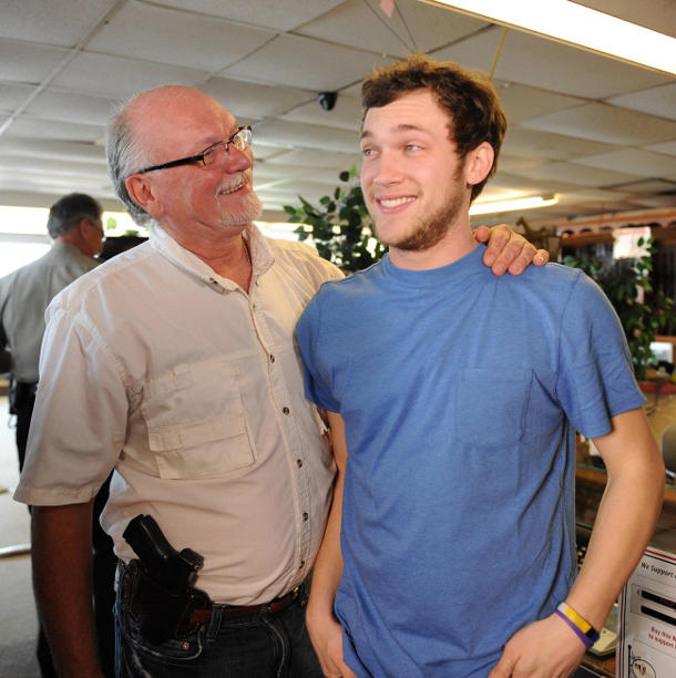 Don and Phillip Phillips at their Georgia pawn shop [photo: Fox]