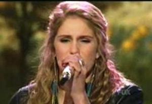 Shannon sings for the Judges' Save