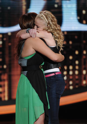 "Skylar says goodbye on ""Idol"" [photo: Fox]"