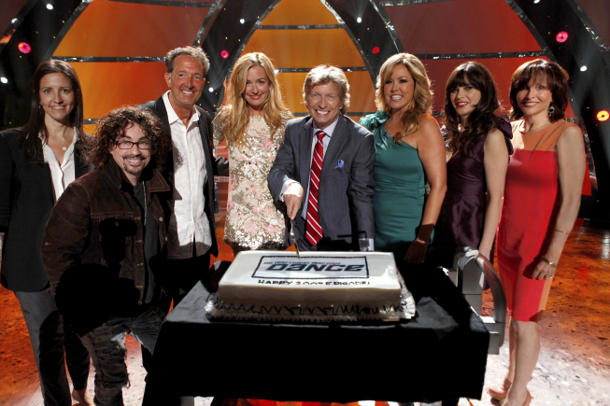 Cake + SYTYCD + Zooey = Best. Celebration. Ever. (photo courtesy of Fox)