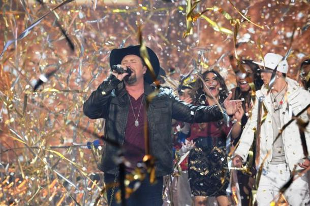 "Tate Stevens wins ""The X Factor"" Season 2 [photo: Fox]"