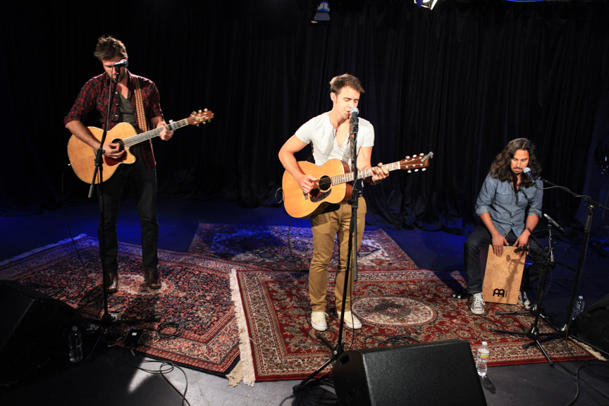 Cale Mills, Kris Allen, Chris Torres [photo: Ian Dittbrenner]