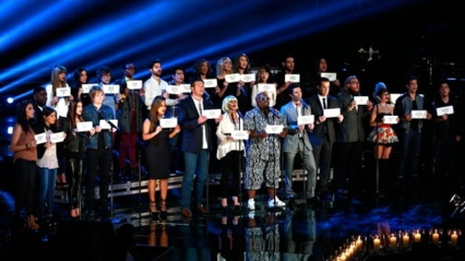 """The Voice"" pays tribute to the Newtown shooting victims"