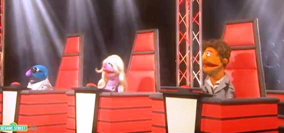 "The Muppets take over ""The Voice"""
