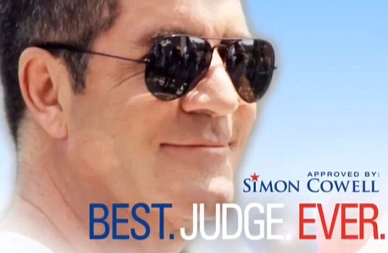 "Simon Cowell Claims He's What ""America Deserves"" In Election-Style Smear Campaign"