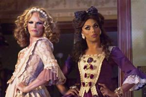 Willam & Shangela as the Evil Stepsisters