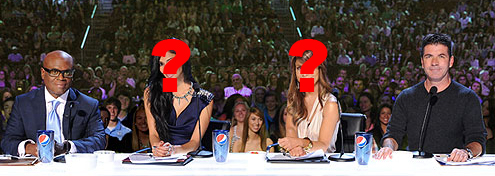 Who will replace Nicole & Paula?