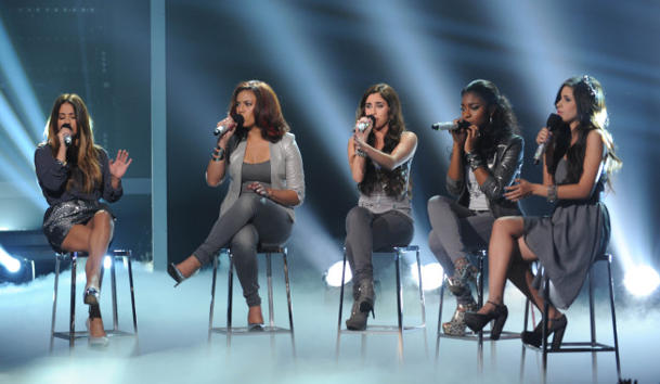 """The X Factor"" goes unplugged [photo: Ray Mickshaw/Fox]"