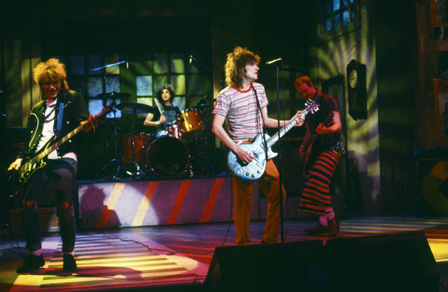 The Replacements on 'Saturday Night Live' in 1986. (Photo: NBC)