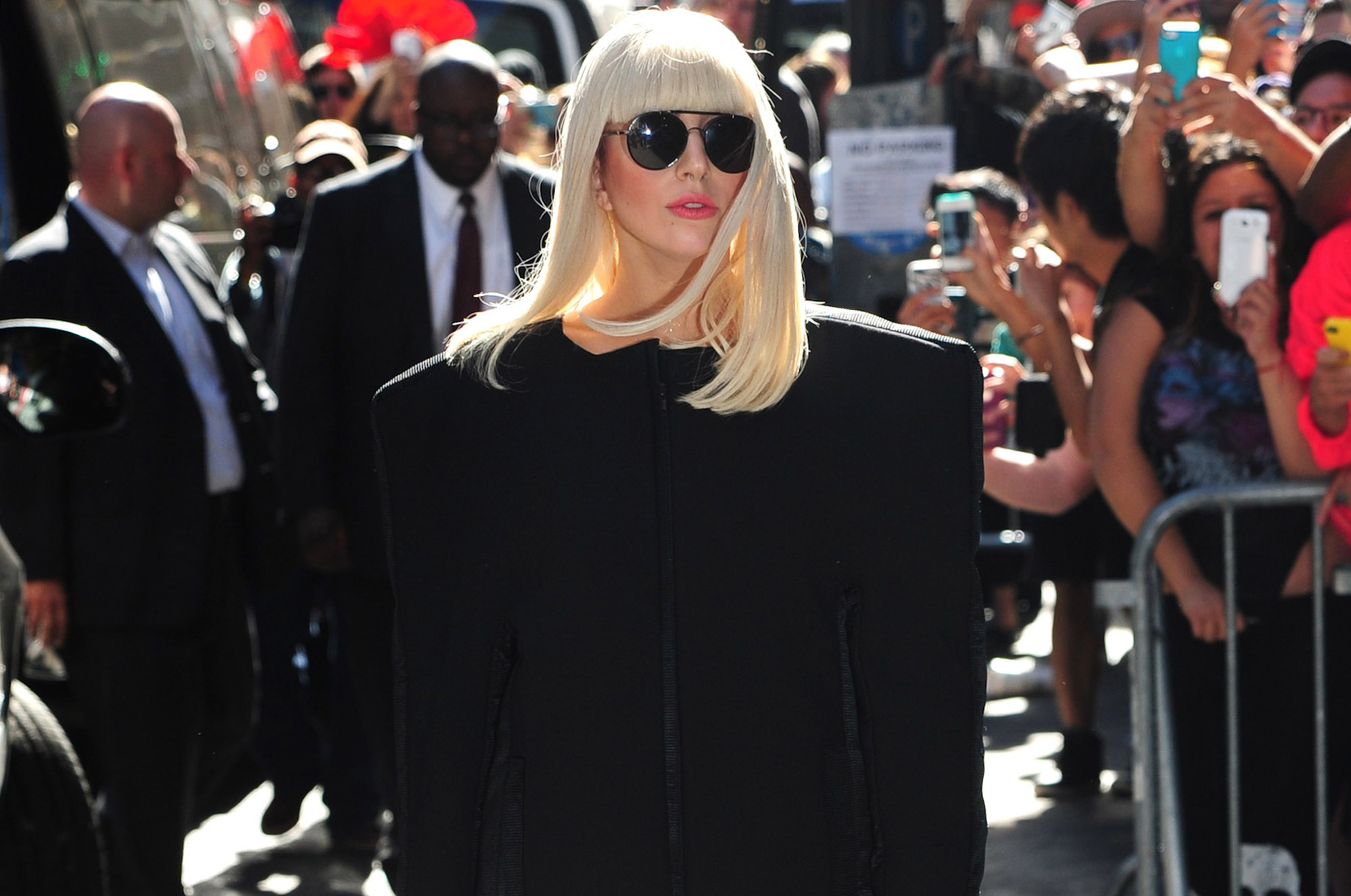 Lady Gaga in New York last month. (FilmMagic)