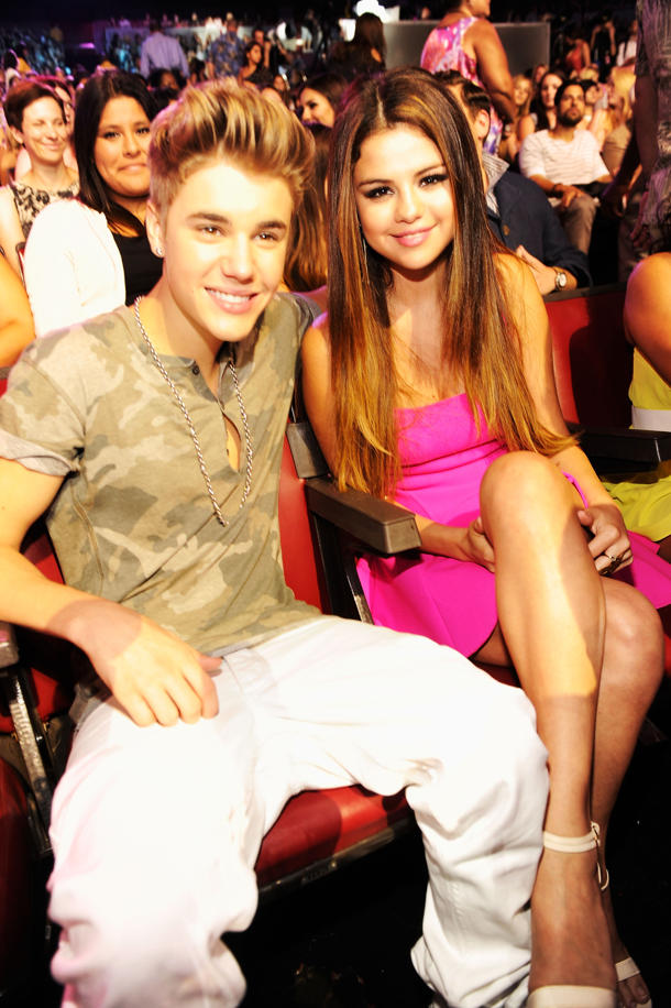 Justin Bieber and Selena Gomez (Photo: Kevin Mazur)