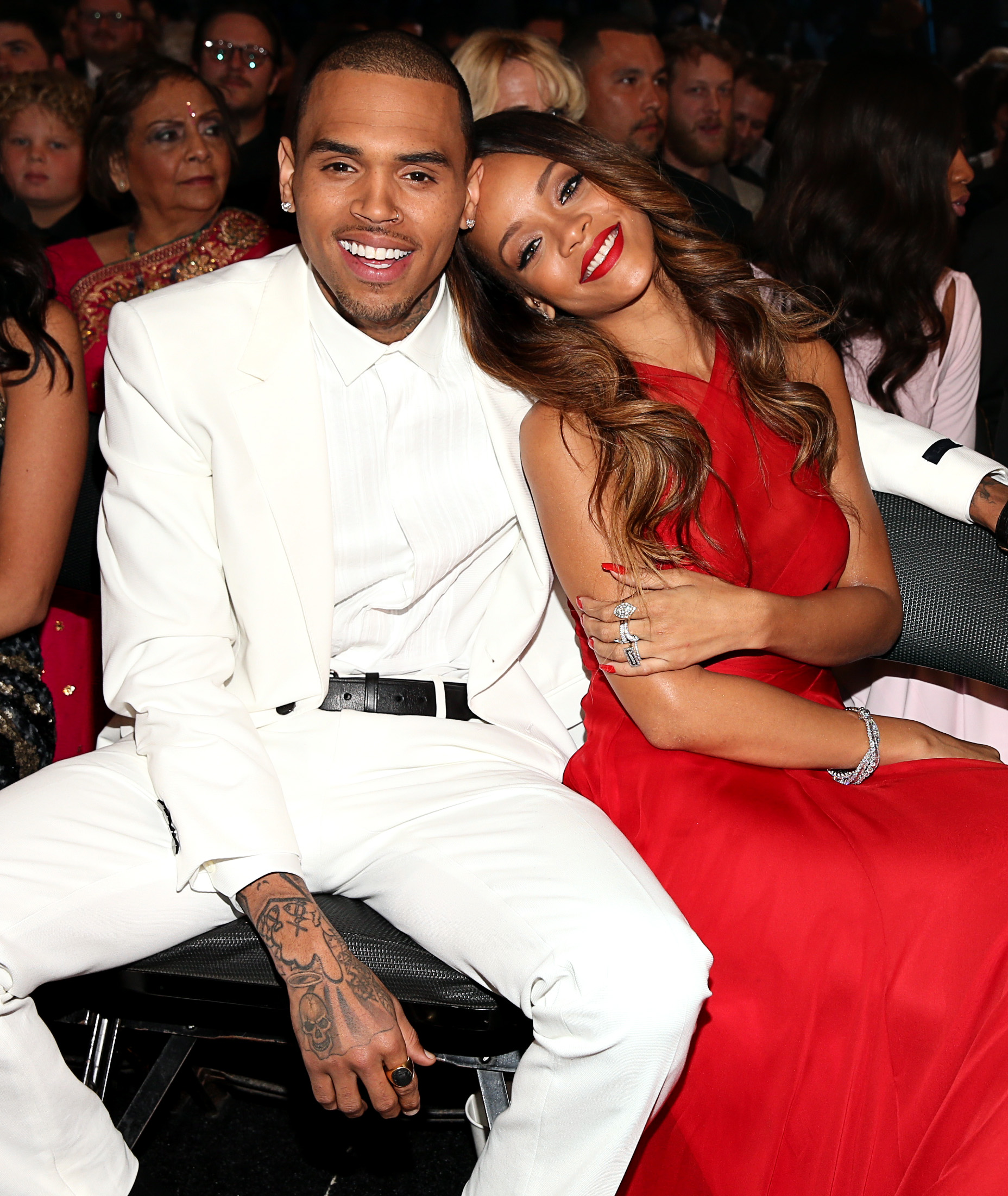 Chris Brown, Rihanna (Christopher Polk/Getty Images for NARAS)