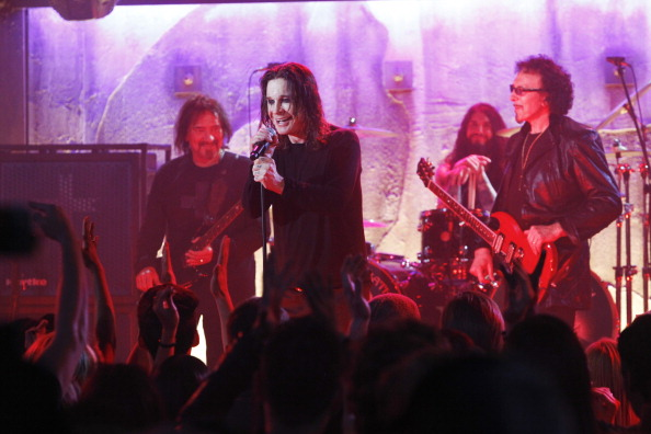 "Black Sabbath perform on ""CSI"" (Photo: CBS)"