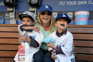 Britney Spears and sons (Photo: Jon SooHoo)