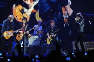 Mick Taylor joins the Stones in London